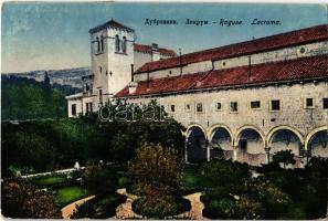 1934 Dubrovnik, Ragusa; Lokrum / island, monastery