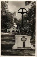 Selmecbánya, Schemnitz, Banská Stiavnica; Partia na Kalvárii / Kálvária / calvary. Foto S. Protopopov