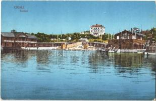 1913 Mali Losinj, Lussinpiccolo-Cigale; Seebad / spa, baths