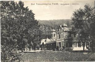 Trencsénteplic, Trencianske Teplice; fürdő, gyógyterem. Kiadja Ondreiecska Fábián 5. / Kursalon / spa, baths