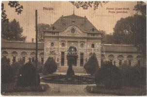 Pöstyén, Pistyan, Piestany; Ferenc József fürdő / Franz Josef-Bad / spa, baths (EK)