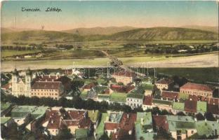 1915 Trencsén, Trencín; látkép / general view (kopott sarkak / worn corners)