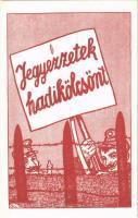 Jegyezzetek Hadikölcsönt! / WWI Hungarian military war loan propaganda s: Bér