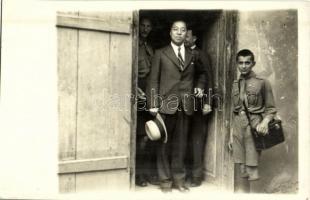 1933 Gödöllő, Jamboree, az ázsiai küldöttség vezetője / Scout Jamboree, Head of the Asian Delegation. photo