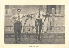 Slovákia Cerny Kosice / Slovakian cyclists with penny-farthing bicycles / Szlovák kerékpárosok velocipédekkel (EK)