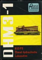 Ganz-MÁVAG DHM3-1 610 PS Diesel-hídraulische Lokomotive német nyelvű prospektus