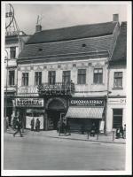 cca 1940 Kolozsvár, Belle Zoltán fényképészeti műterme, fotó, 12×9 cm