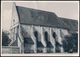 cca 1930 Kolozsvár, Farkas utcai református templom, pecséttel jelzett fotó, 12,5×17,5 cm