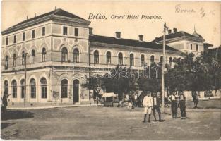 Brcko, Brcka; Grand Hotel Posavina, Kaffeehaus, Speisesaal / hotel, cafe and restaurant