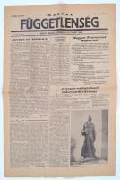 1956 a Magyar függetlenség forradalmi lap 1. évf. 4. lapszáma (nov. 1., reggeli kiadás), érdekes hírekkel