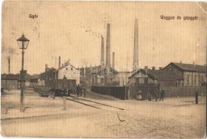 1915 Győr, Vagon és gépgyár, iparvasút, csillék (EK)