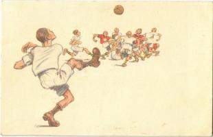 1922 Football match. B.K.W.I. 279-4. s: Carl Josef