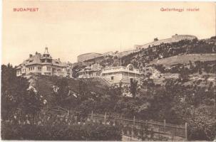 Budapest XI. Gellért-hegyi részlet (Gellérthegy), Citadella, villák