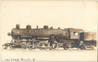 Southern Pacific B locomotive of the American state railways