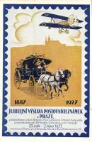 1887-1927 Jubilejní vystava postovních známek v Praze / 40th Jubilee exhibition of postage stamps in Prague, philately. So. Stpl (EK)
