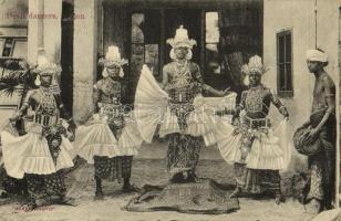 Ceylon, Sri Lanka; Devil dancers, folklore. Skeen-Photo (fl)