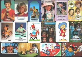 1972-2019 27 db kártyanaptár gyermek témában