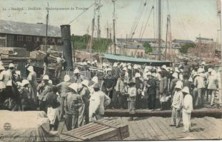 Dakar Shipping of troops