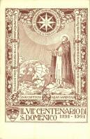 Il VII. Centenario di S. Domenico 1221-1921 / 5th centenary of S. Domenico. Art Nouveau, floral
