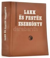 Lakk és festék zsebkönyv. Szerk. Dr. Kovács Lajos. Bp., 1972, Műszaki. Második, átdolgozott, bővített kiadás. Kiadói nyl-kötés.