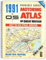 1991 Motoring Atlas of Great Britain, 140p