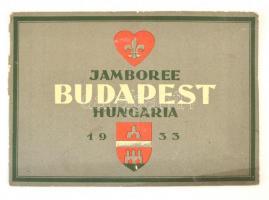 1933 Jamboree Budapest Hungaria, illusztrált német nyelvű füzet a Jamboree-ról / 1933 Jamboree Budapest Hungary, in German language