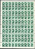1943 Repülő alap IV. 100 sor hajtott teljes ívekben (40.000)