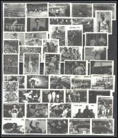 Gyufacímkék az olimpiák történetéből, kb. 71 db