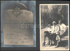 Vegyes régi fotó tétel, életképek, tájképek, családi fotók, 10×6 és 24×18 cm közötti méretekben