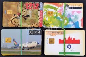 15 db kfl telefonkártya köztük kisebb példányszámokkal