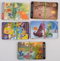 25 db klf mese telefonkártya, közte 10000 példányos