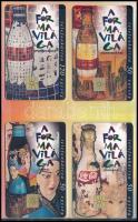11 db klf Coca Cola telefonkártya, 4 db dísztokban