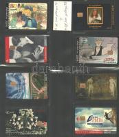4 db klf 2000 és 4 db klf 2500 példányos telefonkártya