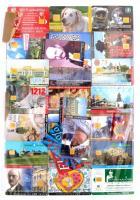 Magyar telefonkártya gyűjtemény. 338 db, jó minőségű kártya, közötte ritkábbak + egy telfonkártya katalógus