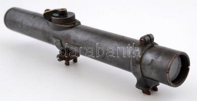 cca 1910 Carl Zeiss Zieldovice jelzett, állítható puska távcső 25 cm