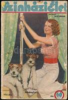 1933-1937 A Színházi Élet 3 db száma, egyik hátlapja hiányzik