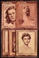 1944 A Magyar Nők Lapjának 7 db száma (2, 4, 7, 9, 10, 12, 22)