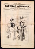 1895 Journal Amusant N. 2033. száma, francia nyelvű vicclap, illusztrációkkal / French humor magazine