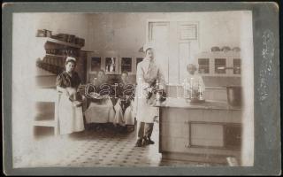 cca 1900 Kézdivásárhely, helyőrségi konyha fotó 22x14 cm