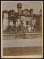 1904 Volosca, régi ház. 9x12 cm