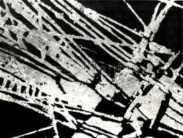 1930 Angelo (1894-1974): Definitio, feliratozott fotóművészeti alkotás, kartonra ragasztva, 39×30 cm