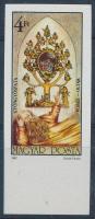 1987 Gyöngyöspatai Jessze-oltár ívszéli vágott bélyeg szelvény nélkül (2.500)