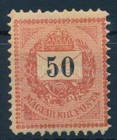 1888 Sztereo 50kr lemezhibákkal (18.000++)