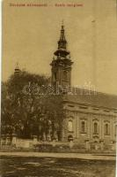 Alibunár, Alibunar; Szerb ortodox templom. W. L. 1234. / Serbian Orthodox church