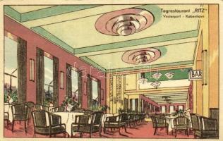 Copenhagen, Kobenhavn; Vesterport, Tagrestaurant Ritz / restaurant, interior