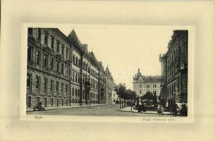 1913 Győr, Deák Ferenc utca. Herman Izidor kiadása