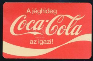 1980 Coca Cola kártyanaptár