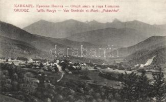 Caucasus, Krasnaya Polyana, Pseashkho