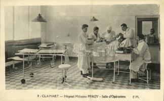 Clamart, Hopital Militaire Percy, Salle dOpérations / military hospital, operating room