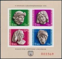 1976 Bélyegnap (49.) - A MABÉOSZ X. Küldöttgyűlése vágott blokk - A Magyar Posta ajándéka (17.000)
